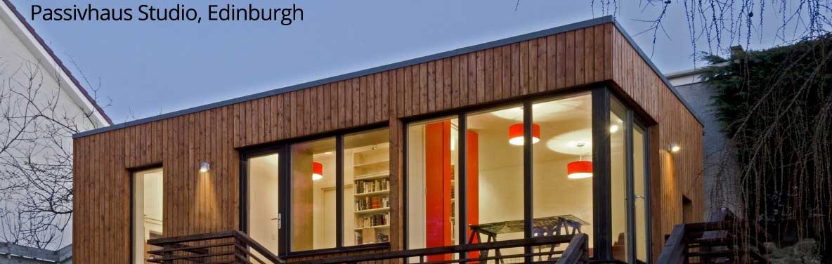 Passivhaus Studio, Edinburgh