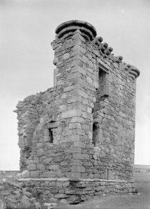 Newbyres castle conservation