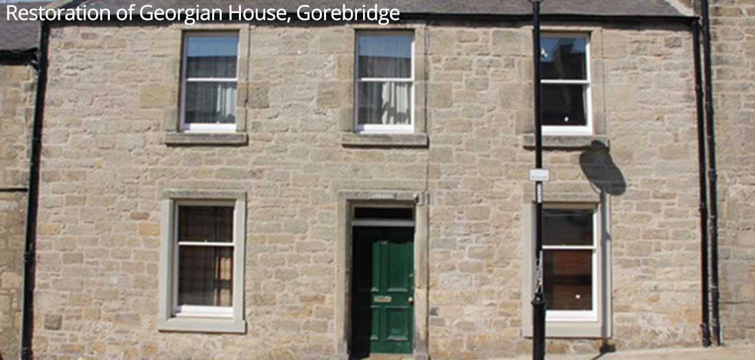 Restoration of Georgian House, Gorebridge
