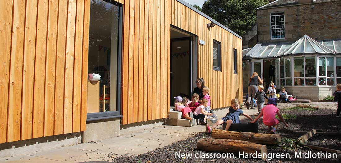 New classroom, Hardengreen, Midlothian